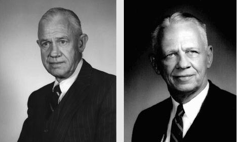 The CIA's Sherman Kent (L) and  Willmoore Kendall (R)