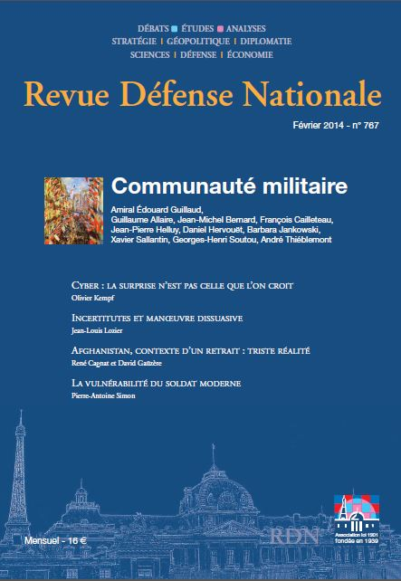 Revue Defense Nationale issue 767