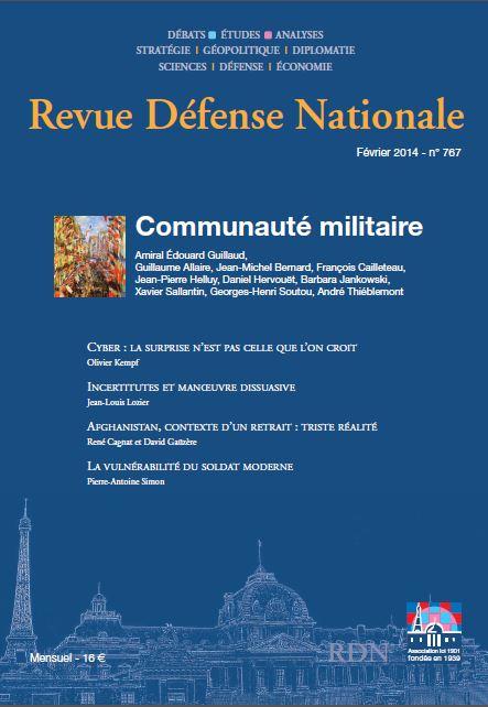 Revue Defense Nationale issue 767